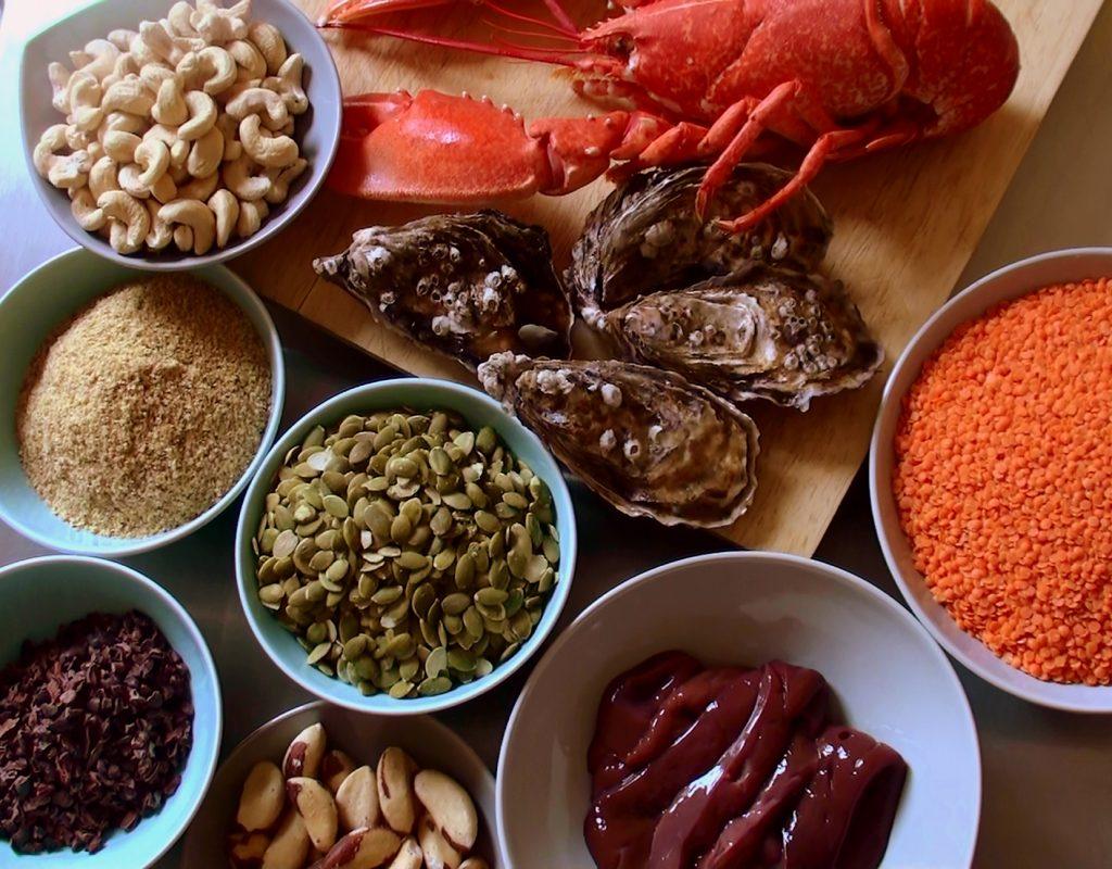 foto di alimenti con Zinco per il Testosterone